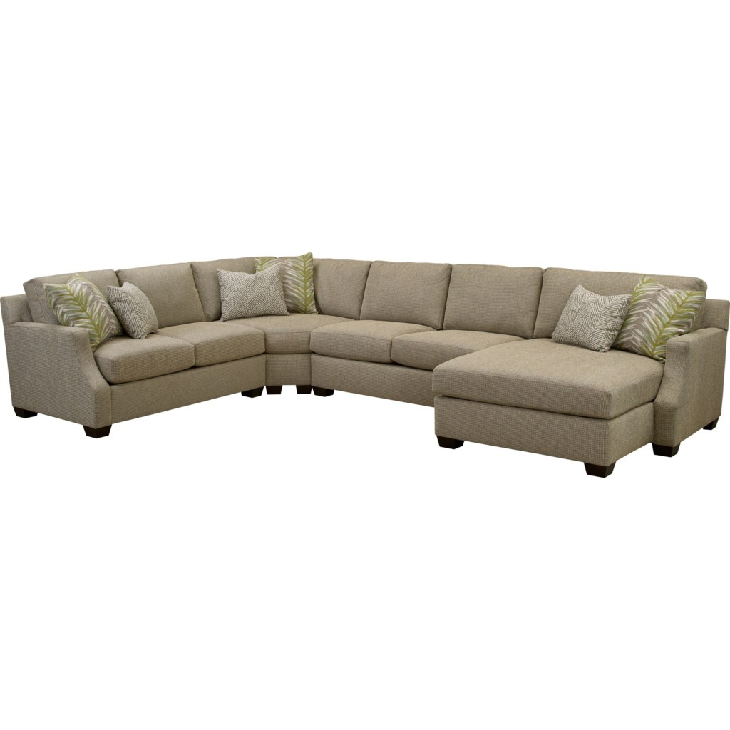 Broyhill Furniture Chambers Large 4 Pc Sectional Sofa With Raf