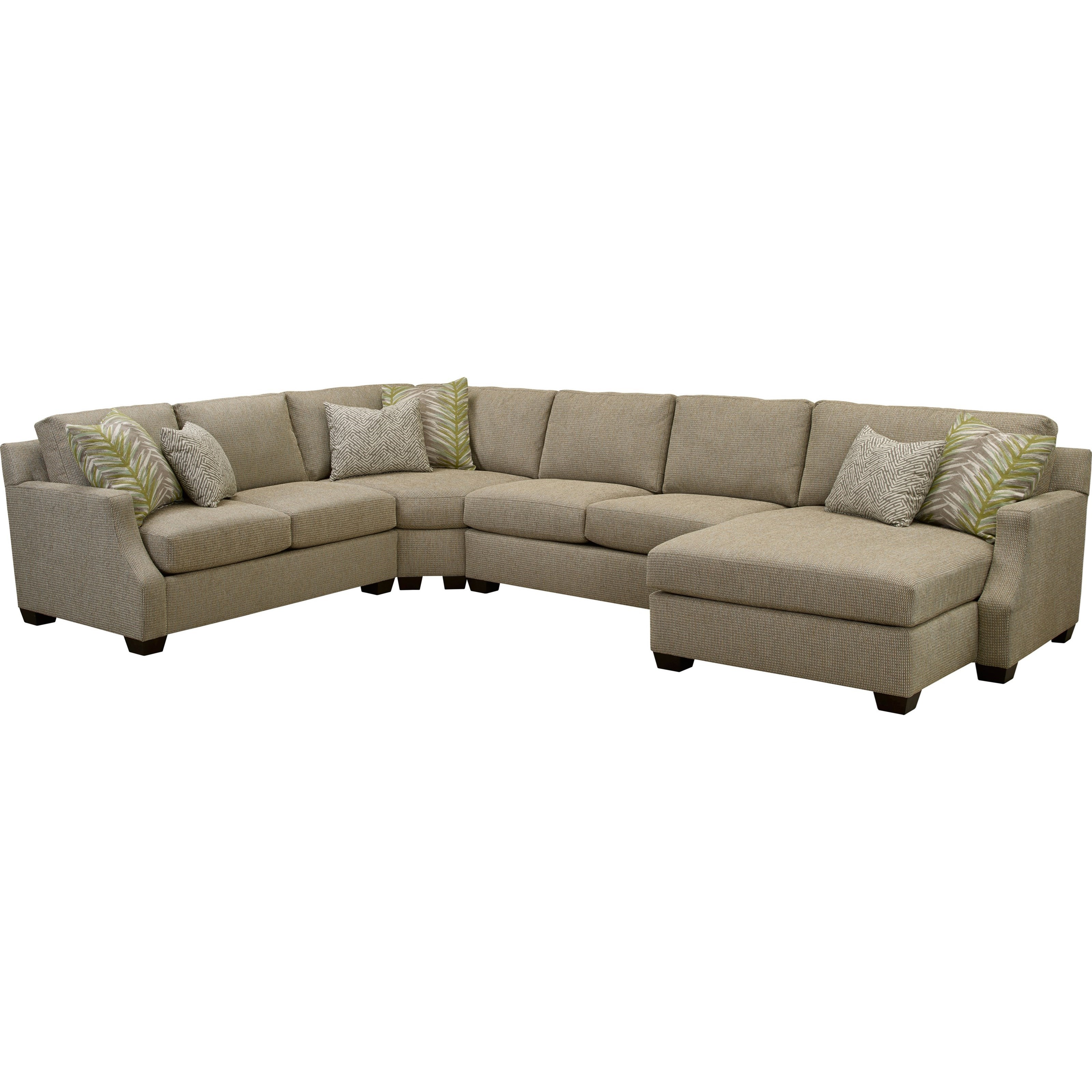 Broyhill Furniture Chambers Large 4 Pc. Sectional Sofa With RAF Chaise