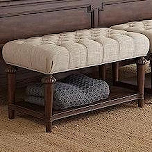 Broyhill Furniture Cranford Upholstered Bed Bench