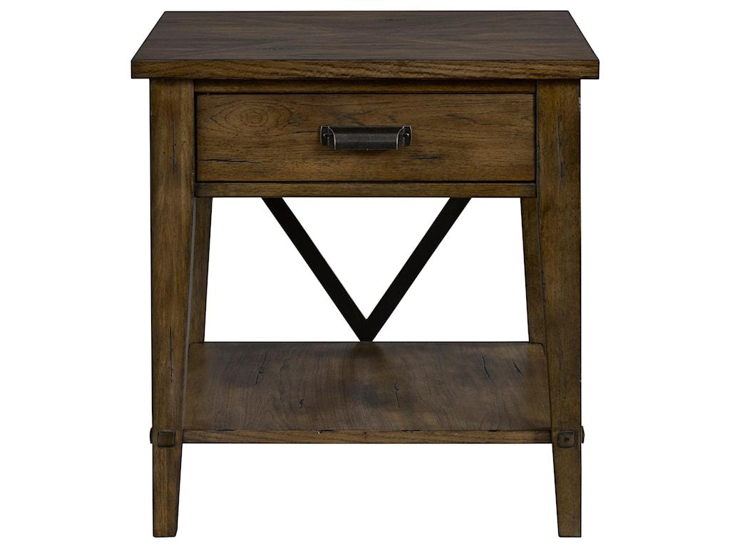 Broyhill Furniture CreedmoorDrawer End Table