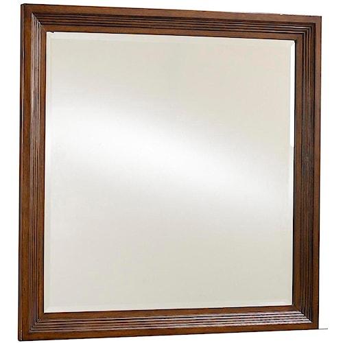 Broyhill Furniture Eastlake 2 Landscape Dresser Mirror with Mirror Supports
