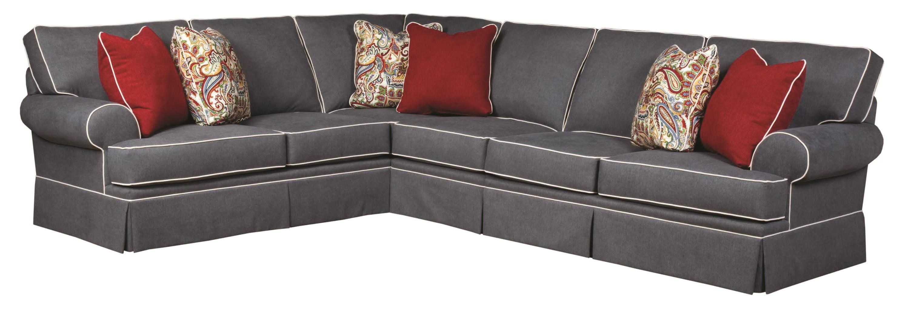 Broyhill Sectional & SofasWonderful Distressed Leather Sofa Twin