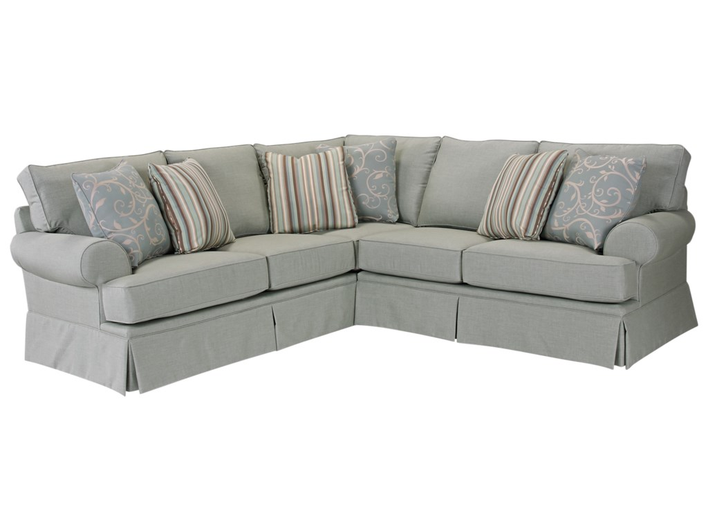 Broyhill Furniture EmilyTransitional Sectional