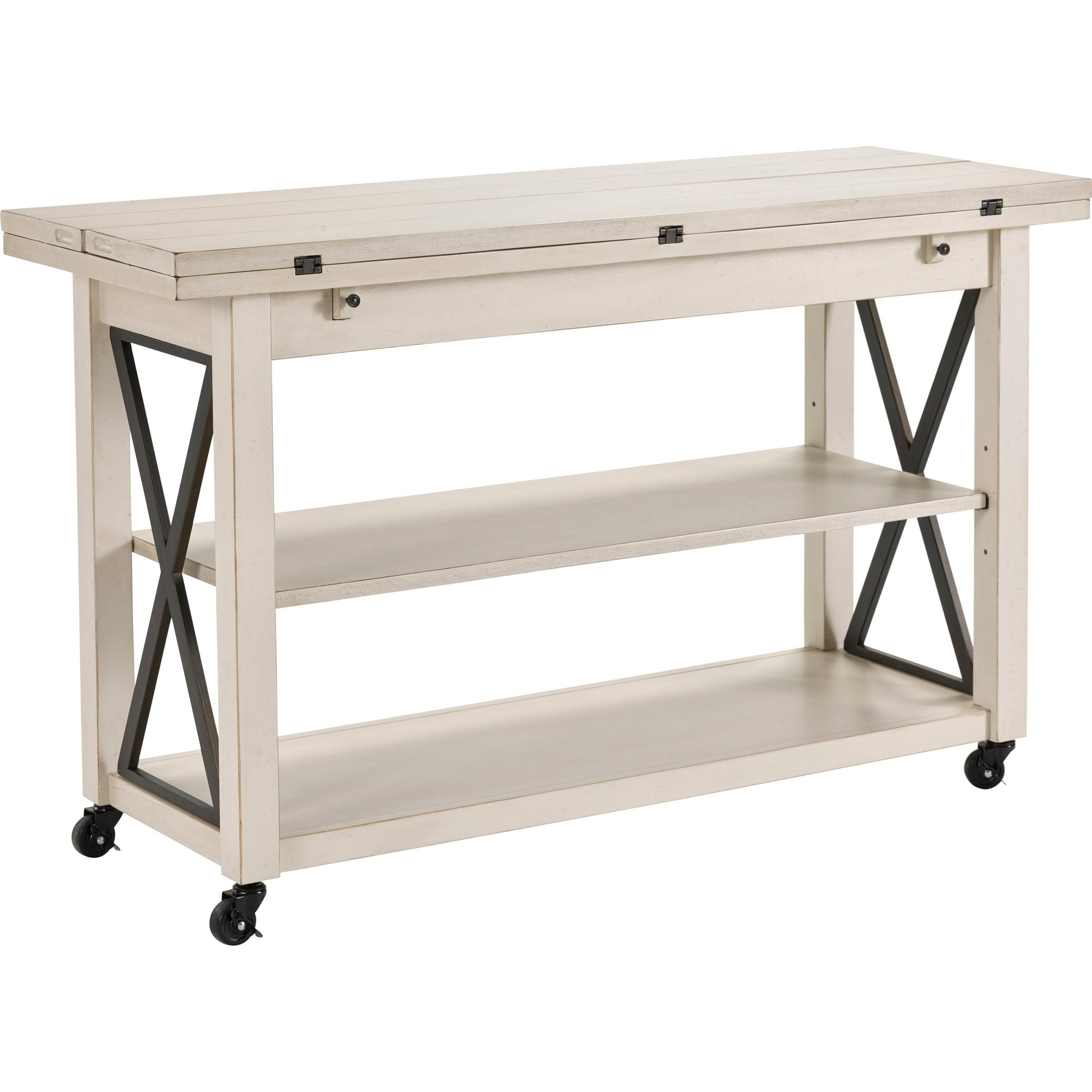 Ester Cottage Flip Top Sofa Table By Broyhill Furniture