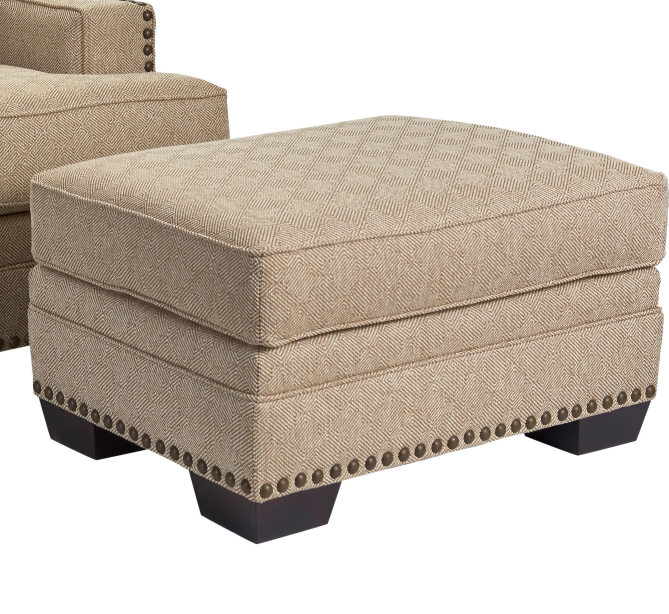 Broyhill Furniture Estes Park Contemporary Chair Ottoman