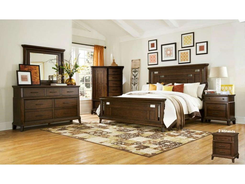Estes Park 8pc Bedroom Group by Broyhill Furniture at Lindy\'s Furniture  Company