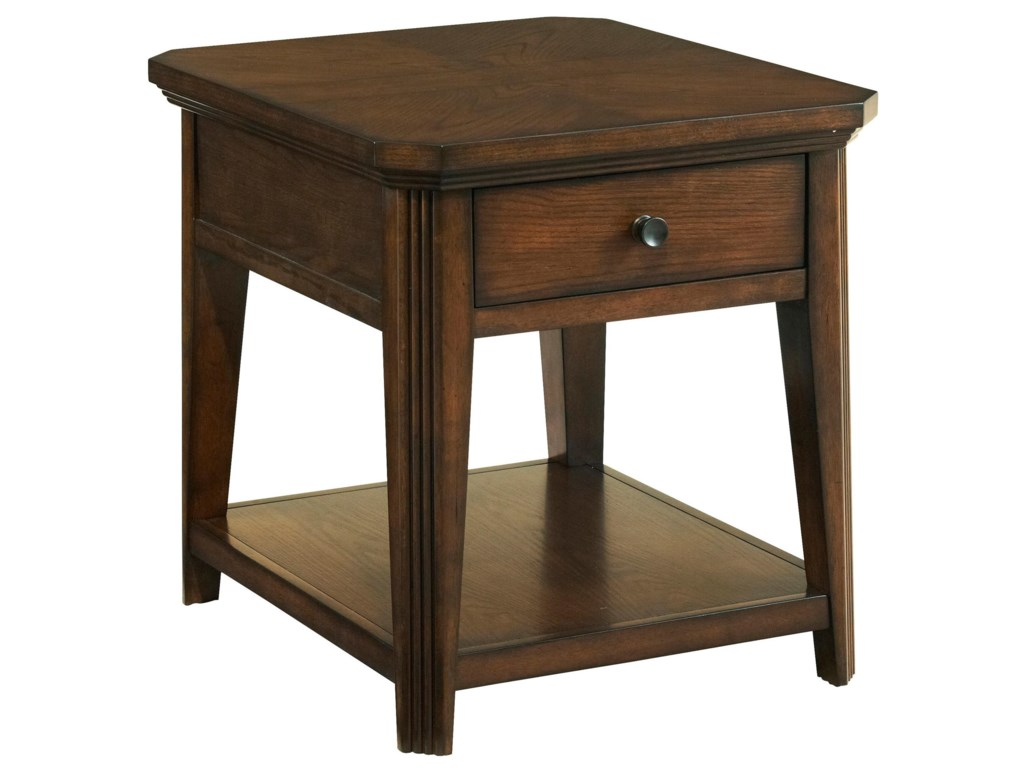 Broyhill Furniture Estes ParkDrawer End Table