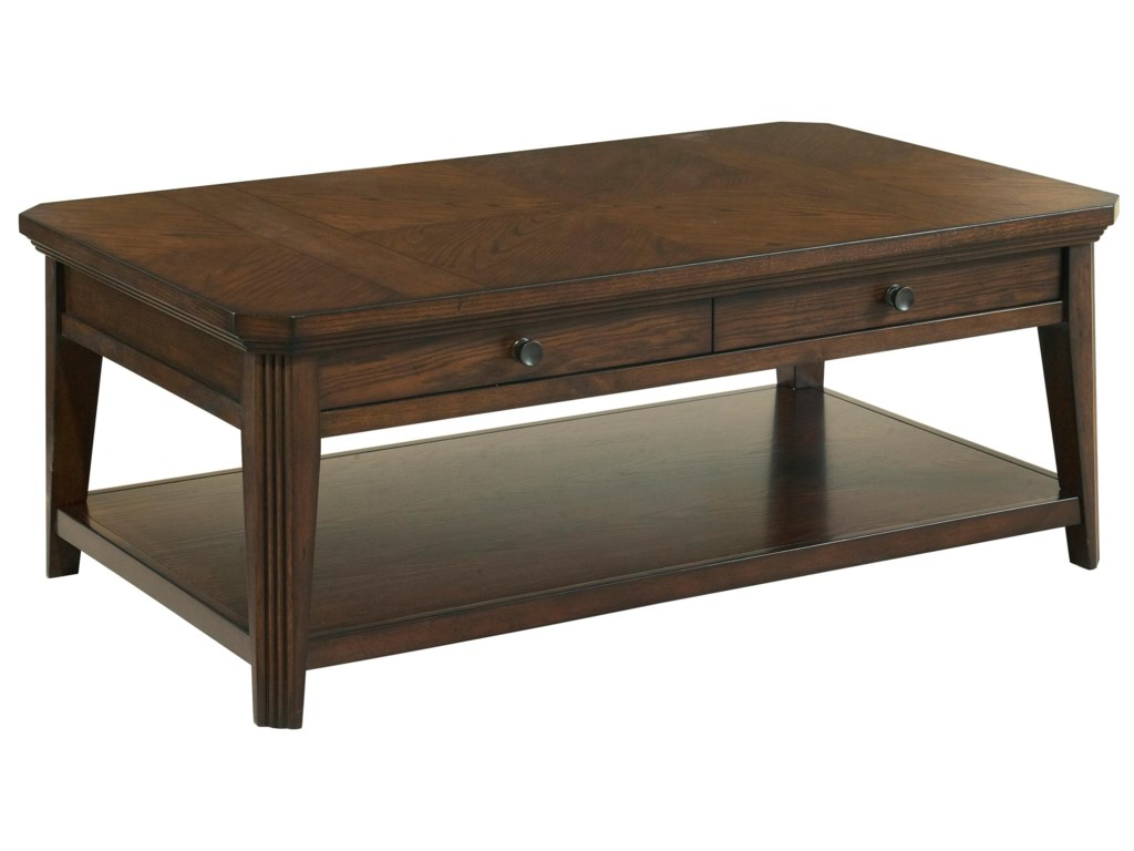 Broyhill Furniture Estes ParkStorage Cocktail Table