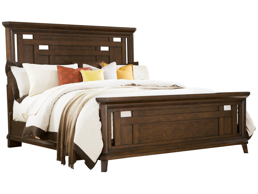 Broyhill Furniture Estes ParkCalifornia King Panel Bed