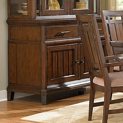 Broyhill Furniture Estes Park Sideboard With Leaf Storage