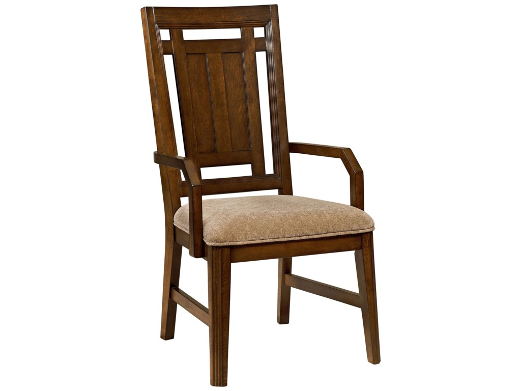 Broyhill Furniture Estes ParkUpholstered Seat Arm Chair