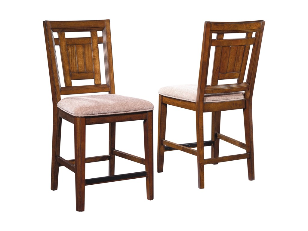 Broyhill Furniture Estes ParkUpholstered Seat Counter Stool