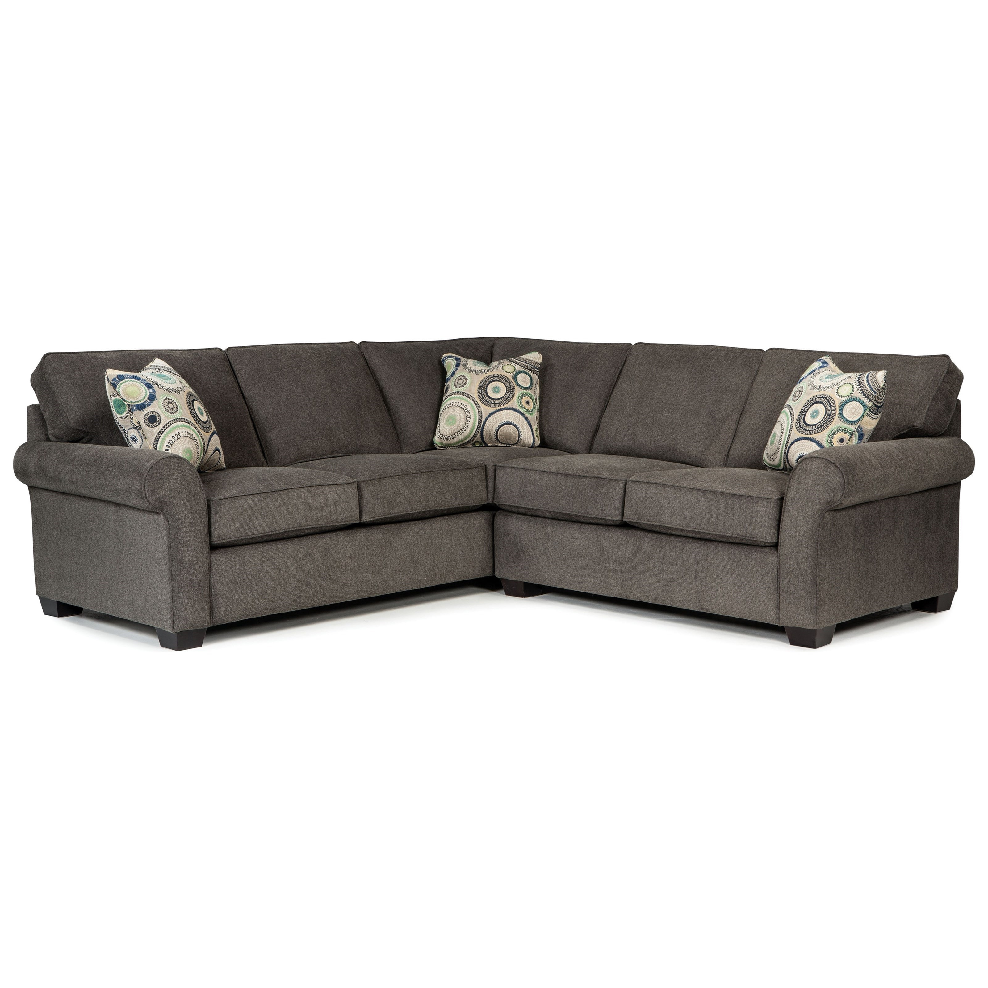 Exceptional Broyhill Furniture Ethan Two Piece Sectional With Corner Sofa