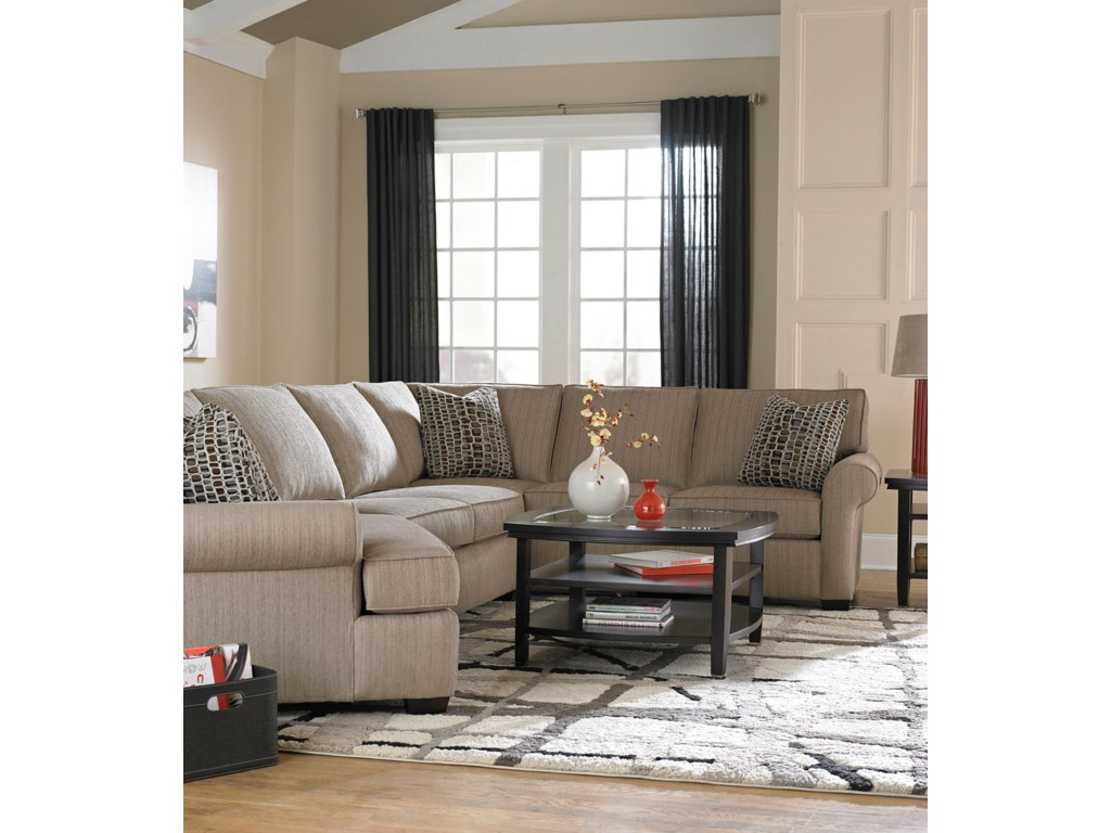 Broyhill Furniture EthanSectional Sofa