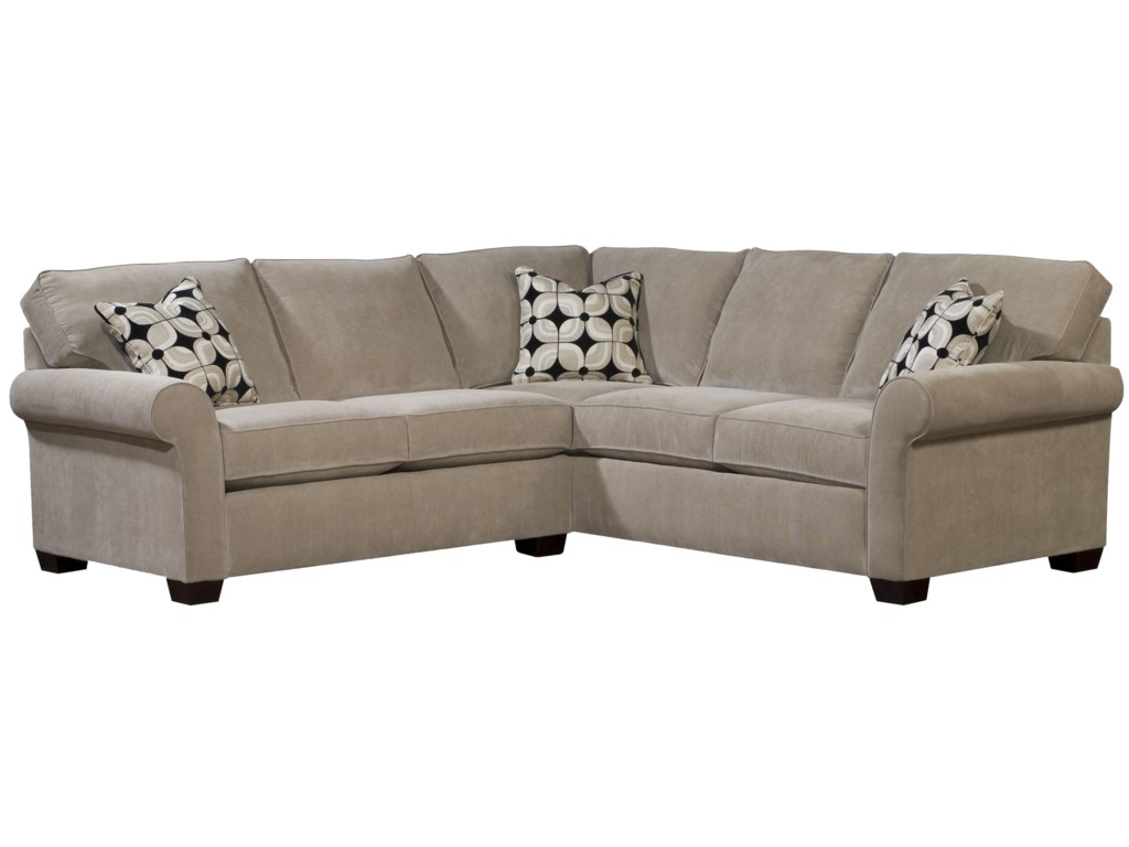 Broyhill Furniture EthanTwo Piece Sectional with RAF Sleeper