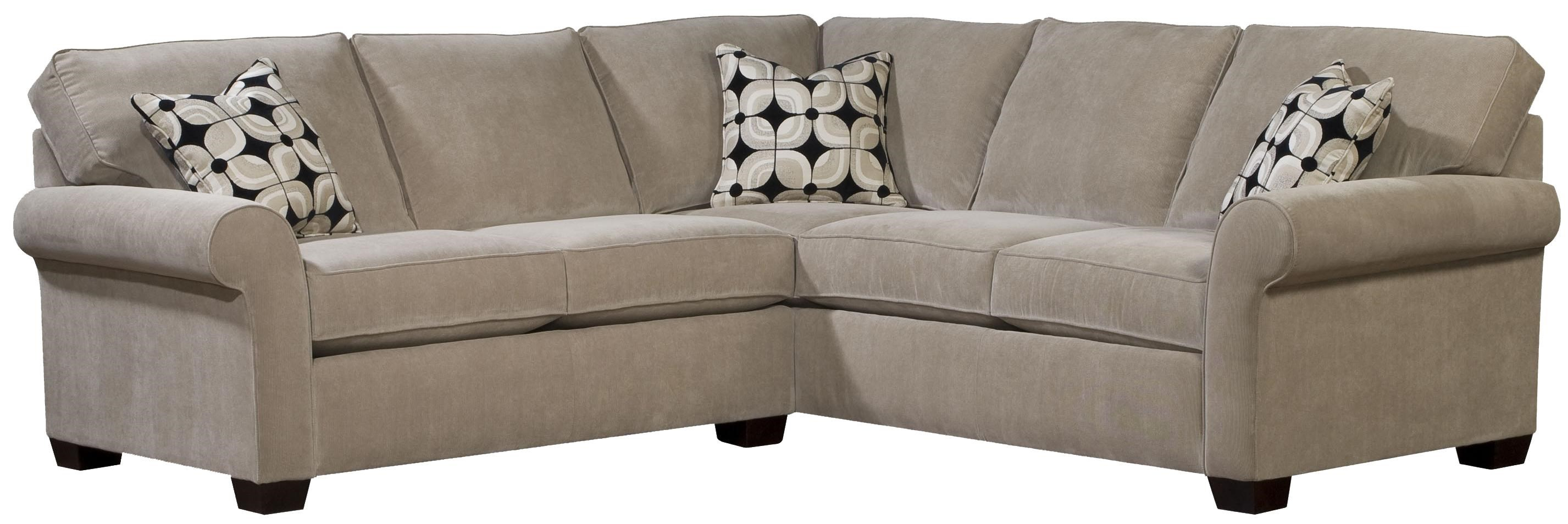 Broyhill Furniture Ethan Two Piece Sectional with LAF Full Sleeper - Baeru0027s Furniture - Sofa Sectional  sc 1 st  Baeru0027s Furniture : broyhill sectionals - Sectionals, Sofas & Couches