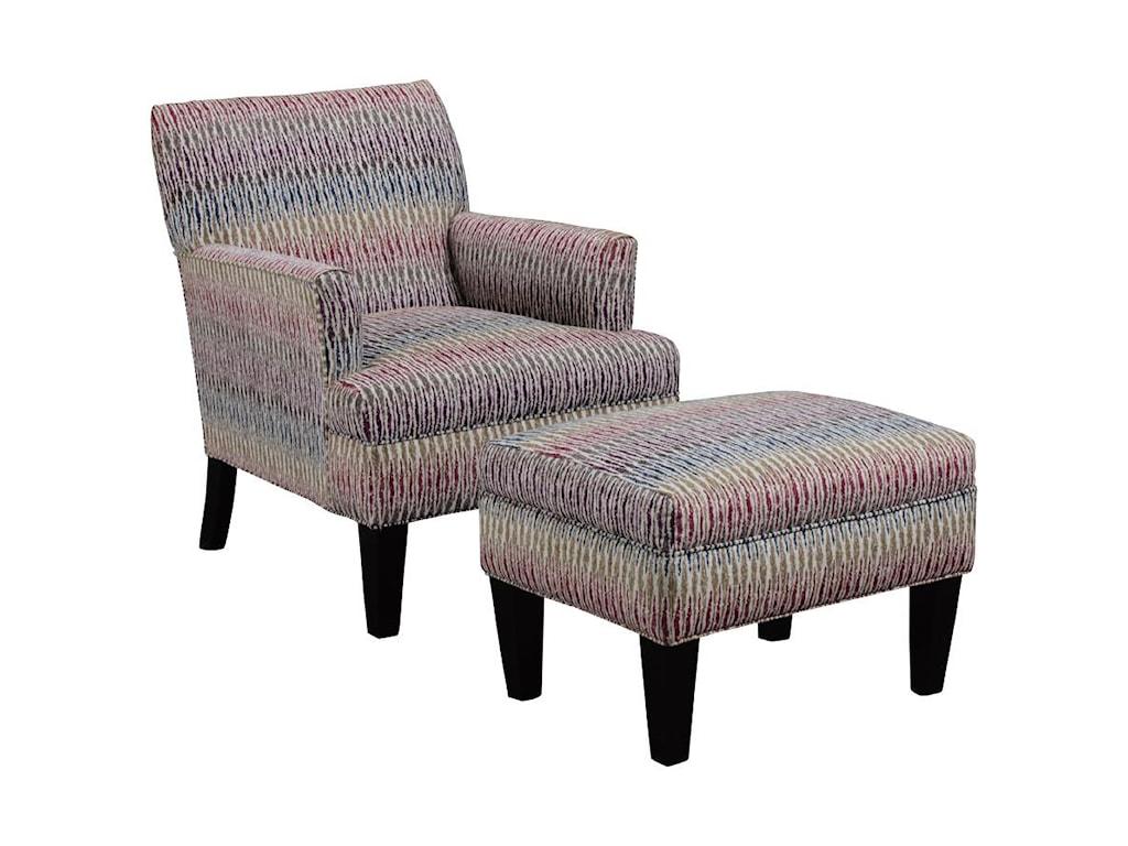 Broyhill Furniture EvieChair and Ottoman Set