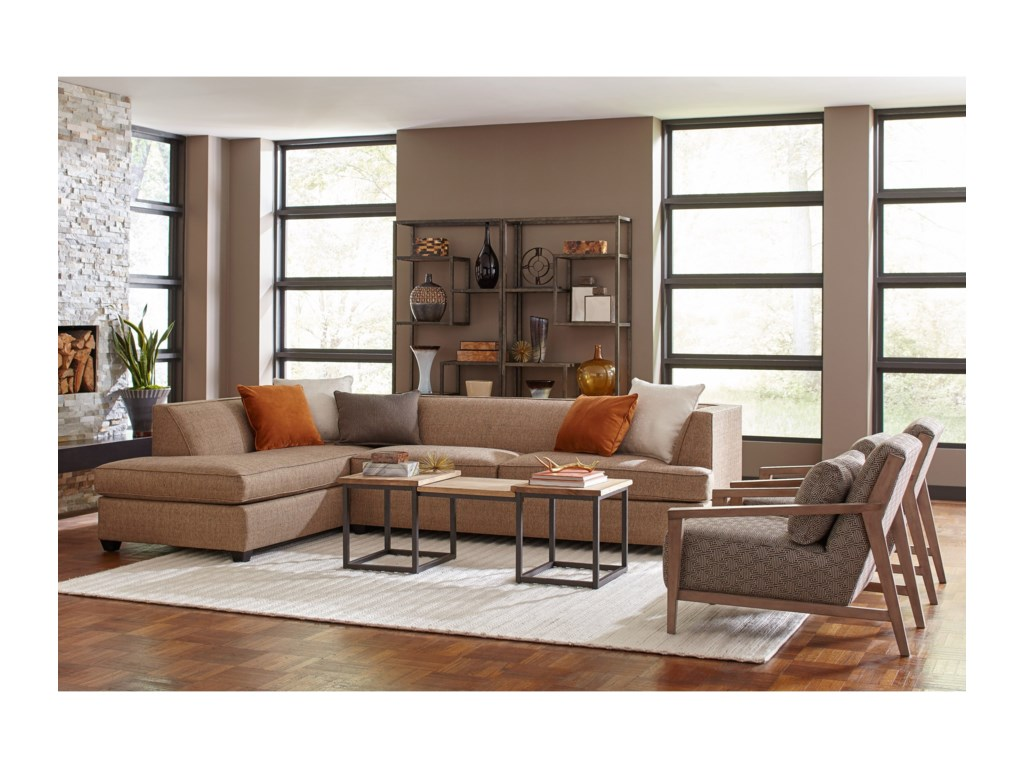 Broyhill Furniture Farida2 Piece Sectional Sofa