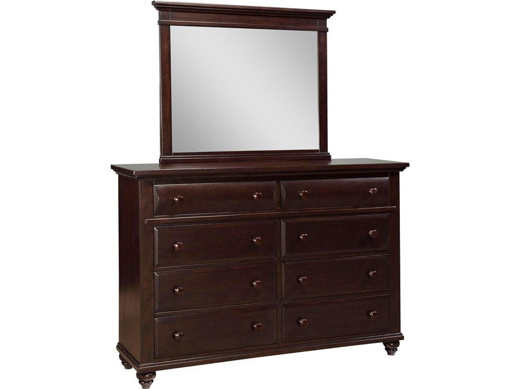 Shown with Landscape Dresser Mirror