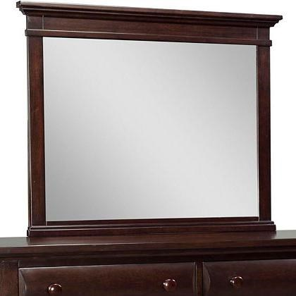 Broyhill Furniture Farnsworth 4856-236 Landscape Dresser Mirror ...