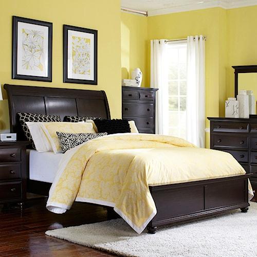 Broyhill Furniture Farnsworth King Sleigh Bed