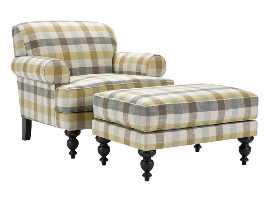 Broyhill Furniture FrankieChair and Ottoman