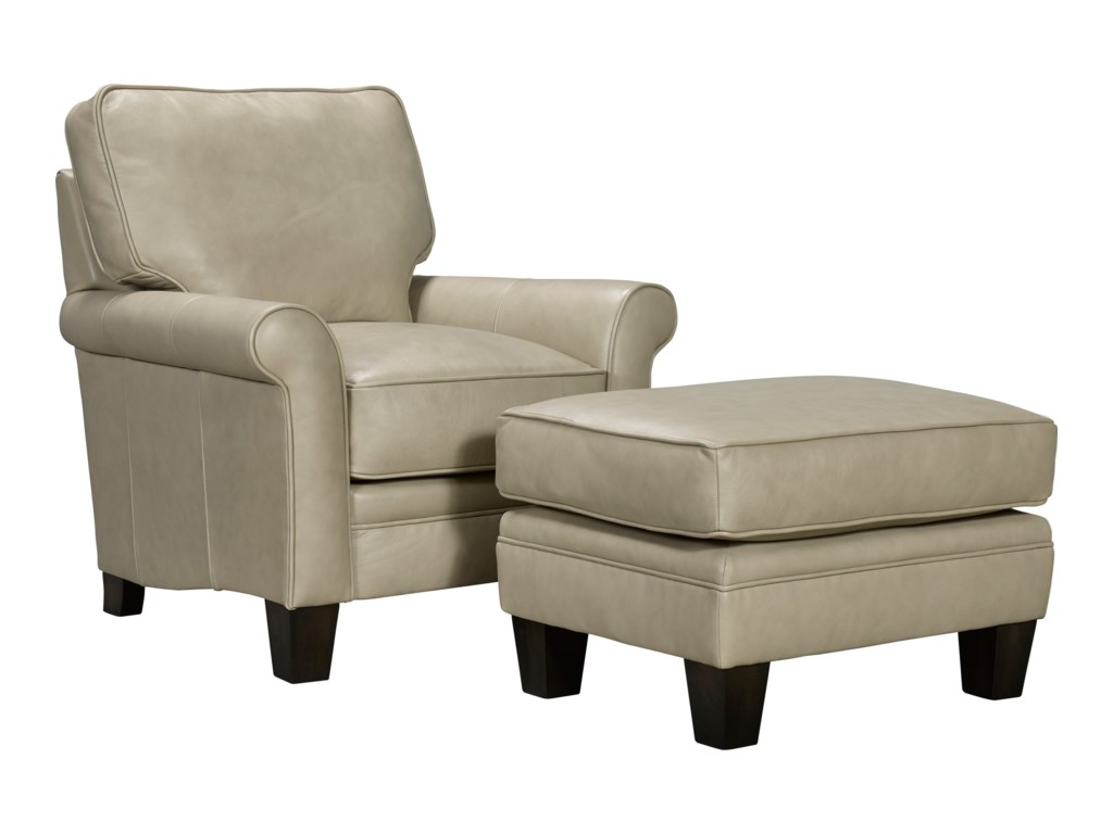 Broyhill Furniture GinaChair and Ottoman