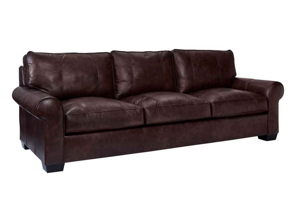 Broyhill Furniture Isadore Casual Sofa Baers Furniture Sofas - Broyhill conversation sofa leather