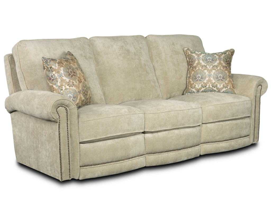 Lane Jasmine 258 59 Traditional Power Reclining Sofa Hudson S  ~ Traditional Reclining Sofa
