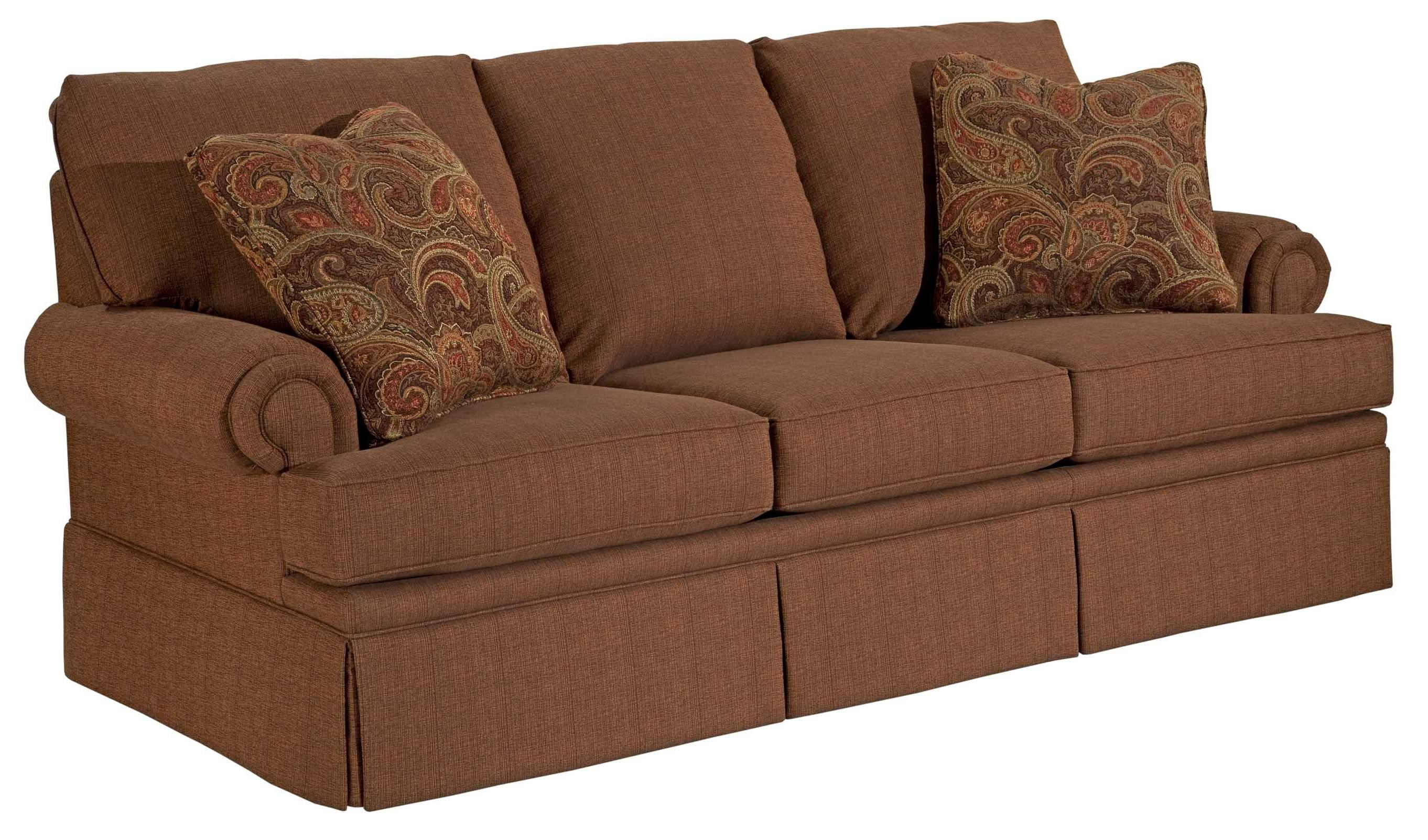 Broyhill Furniture Jenna Air Dream Sofa Sleeper With Queen Size Bed