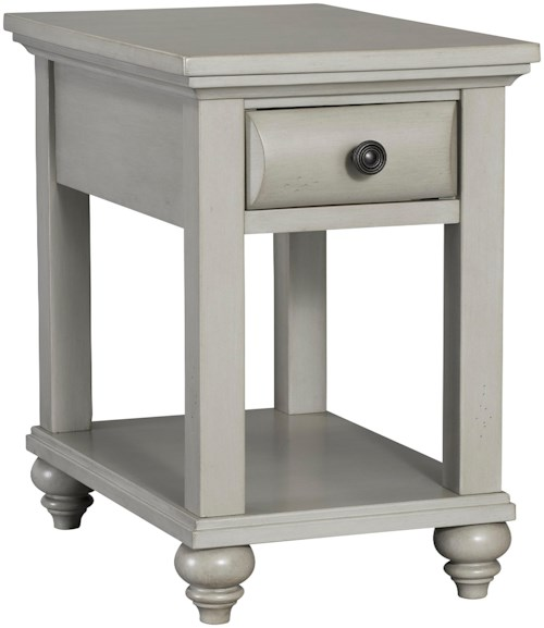 Broyhill Furniture Kearsley Country Cottage 1 Drawer Chairside Table