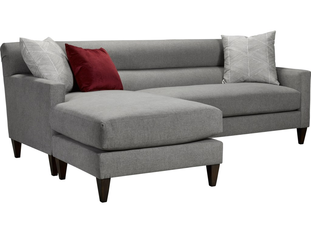 Laclede Contemporary Convertible Sofa With Chaise By Broyhill Furniture