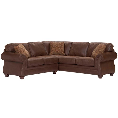 Broyhill Furniture Laramie Piece Corner Sectional Sofa Wayside - Broyhill emily sofa