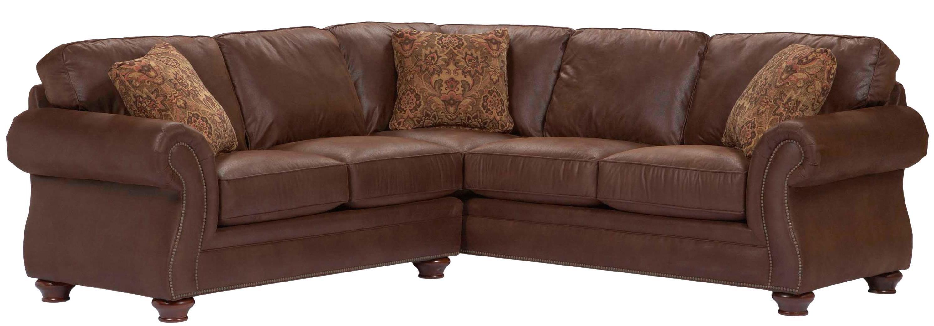 broyhill furniture laramie 2 piece corner sectional sofa JZXF2GIE