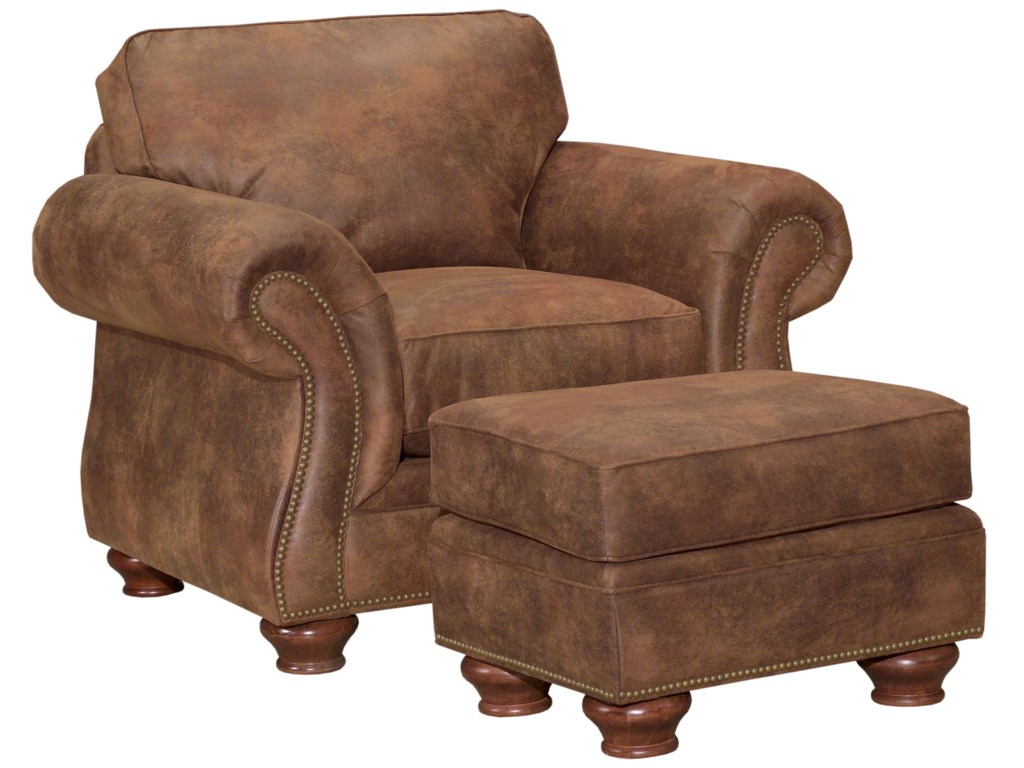 Broyhill Furniture LaramieChair and Ottoman Set