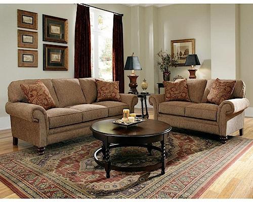 Broyhill Furniture Larissa Broyhill Larissa Sofa & Loveseat Group
