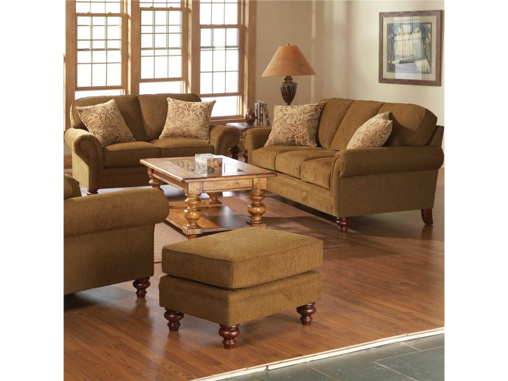 Shown with Matching Ottoman and Sofa