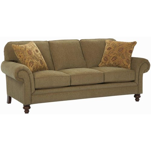 Broyhill Furniture Larissa Queen Air Dream Sleeper Sofa