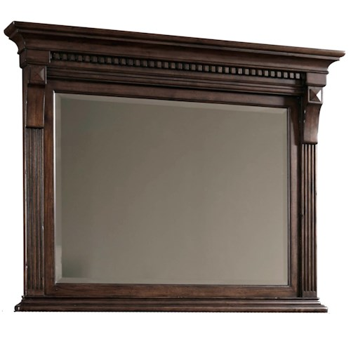 Broyhill Furniture Lyla Chesser Mirror with Beveled Glass