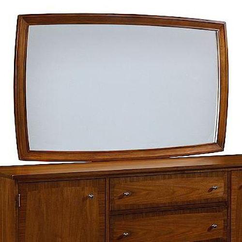 Broyhill Furniture Mardella Landscape Dresser Mirror with Beveled Glass