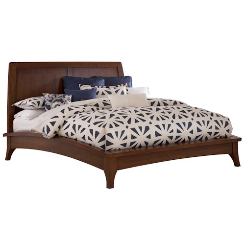 Broyhill Furniture Mardella King Platform Bed with Headboard