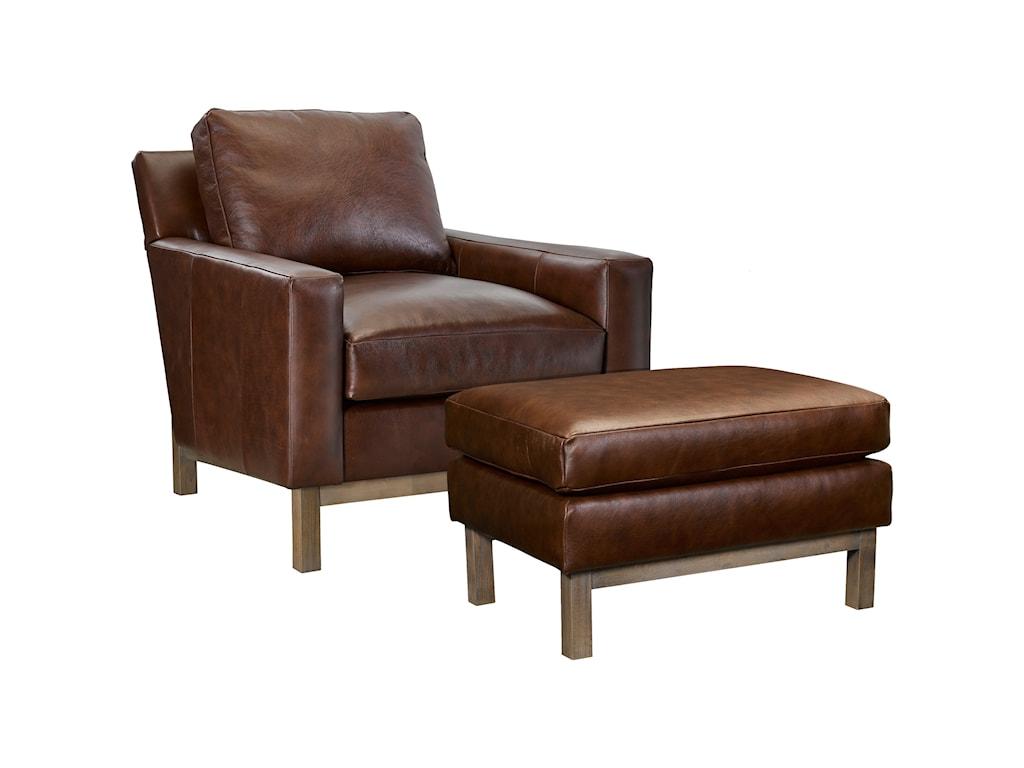 Broyhill Furniture McCreadyChair and Ottoman