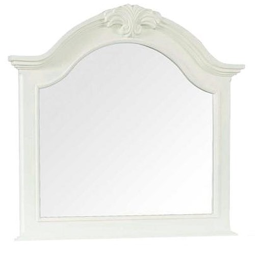 Broyhill Furniture Mirren Harbor Traditional Arched Dresser Mirror