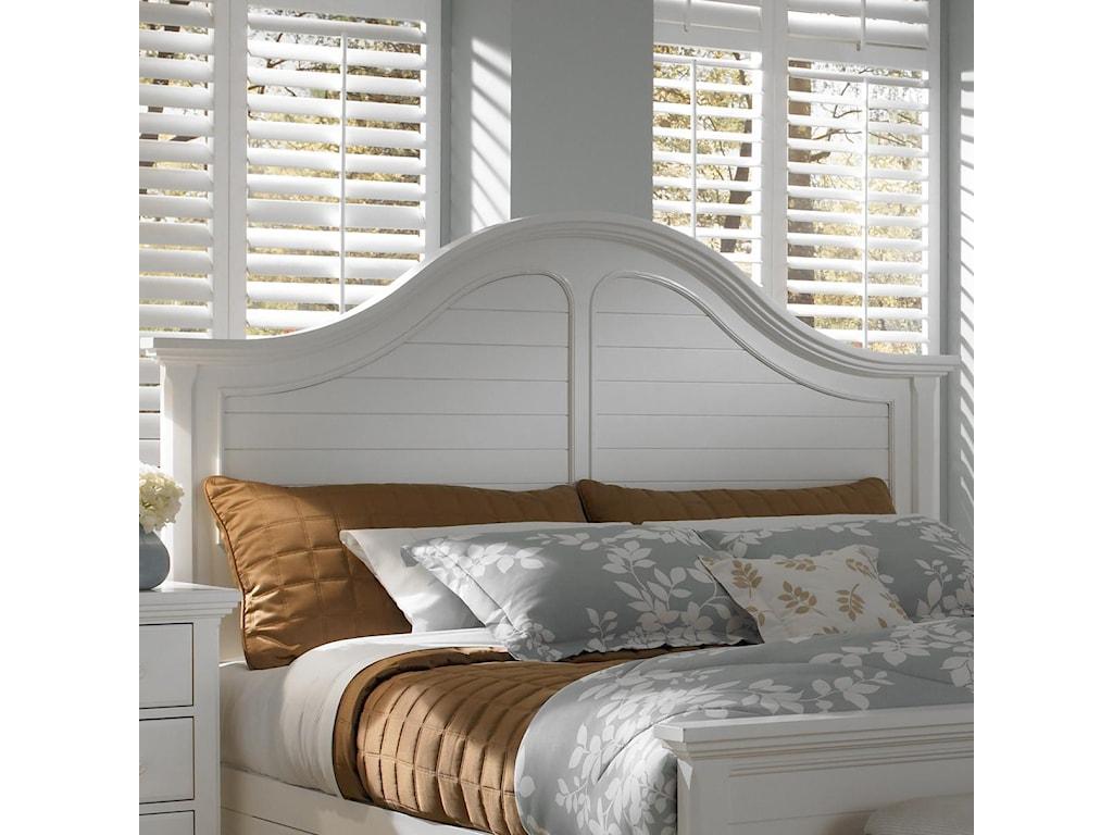 Broyhill Furniture Mirren HarborKing/California King Arched Panel Headboard