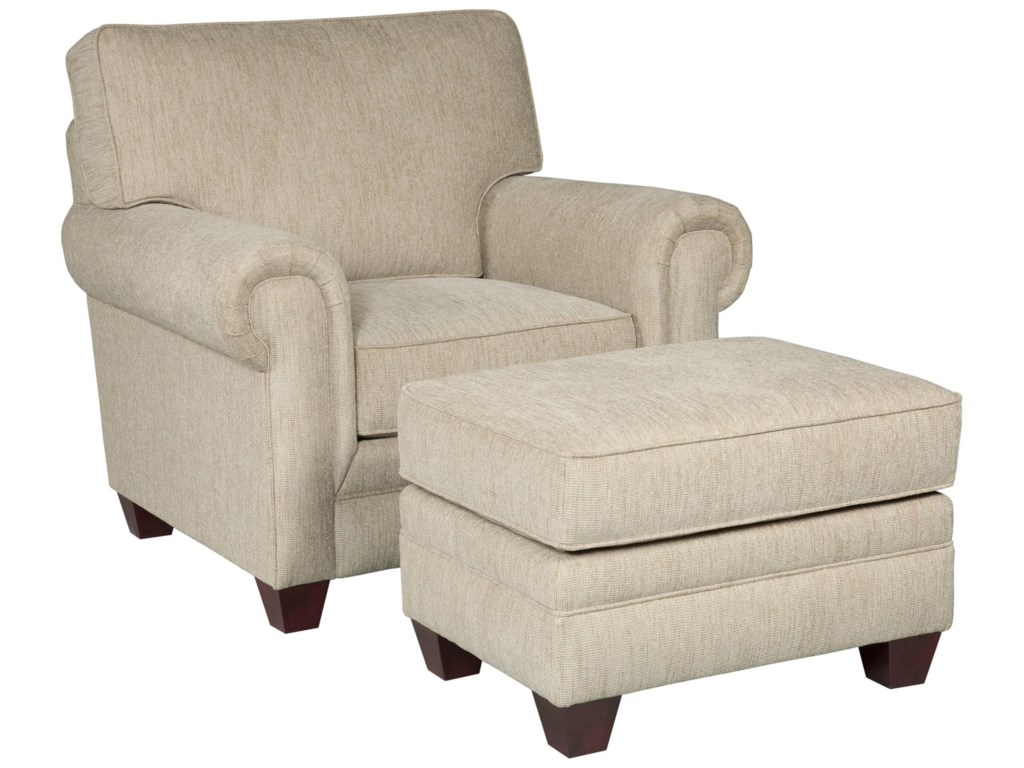 Broyhill Furniture MonicaChair and Ottoman