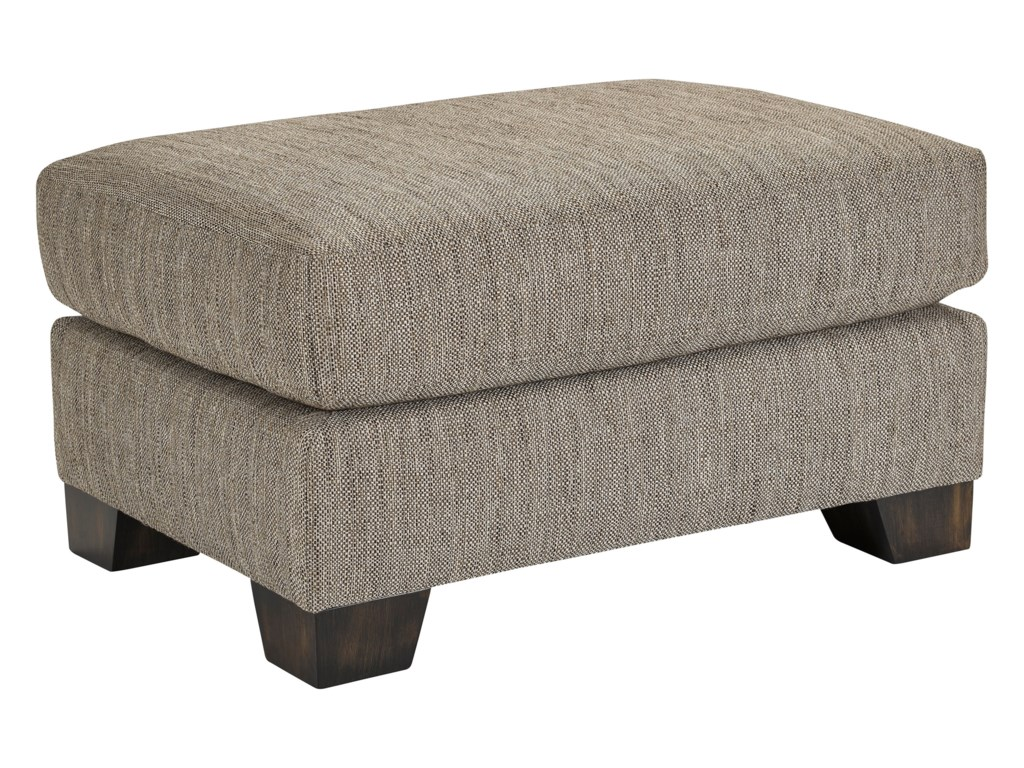 Broyhill Furniture NashSwivel Chair and Ottoman