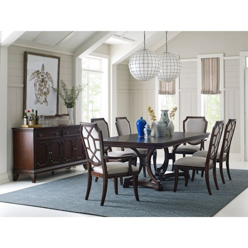 Broyhill Furniture New Charleston Formal Dining Room Group | Wayside ...