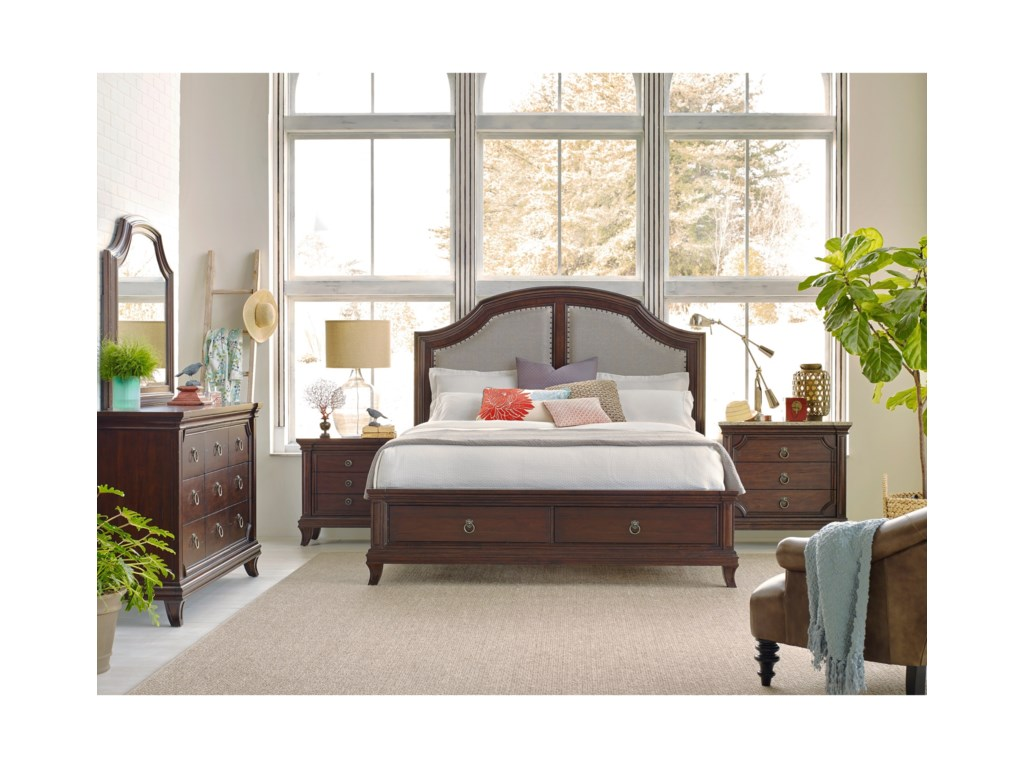 Broyhill Furniture New CharlestonQueen Bedroom Group