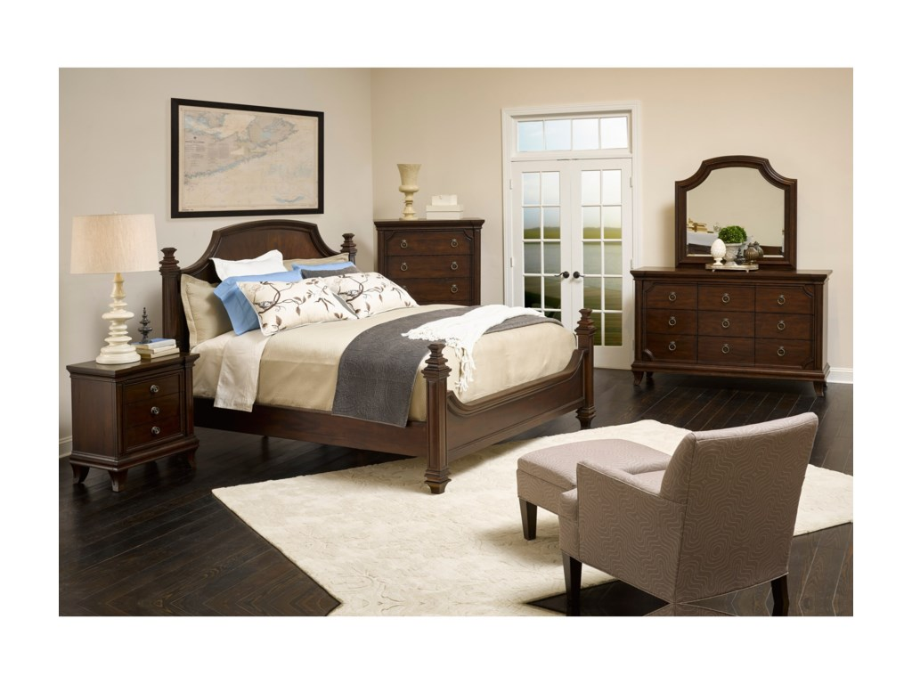 Broyhill Furniture New CharlestonQueen Poster Bed