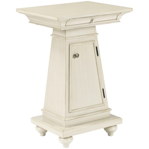 Broyhill Furniture New Vintage Washstand with Pullout Shelf